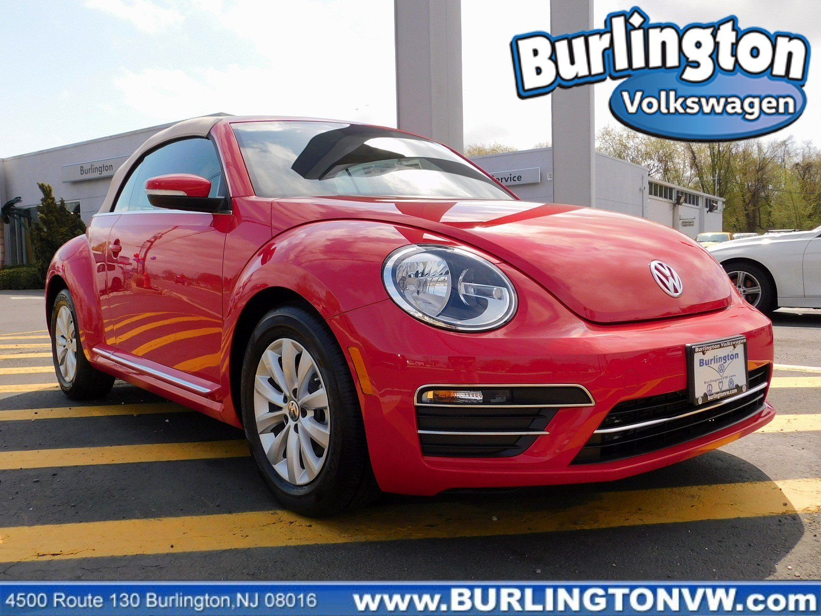 Volkswagen Beetle Convertible >> New 2019 Volkswagen Beetle Convertible S Convertible In Burlington