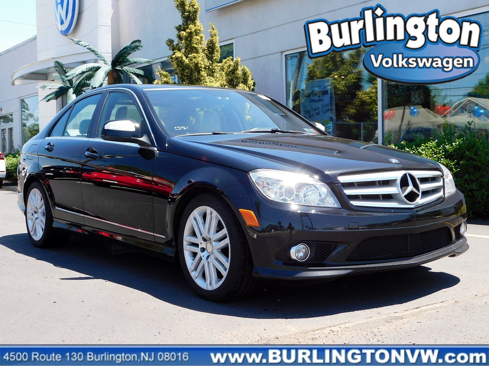 Pre Owned 2009 Mercedes Benz C Class 3 0l Luxury Rwd 4dr Car