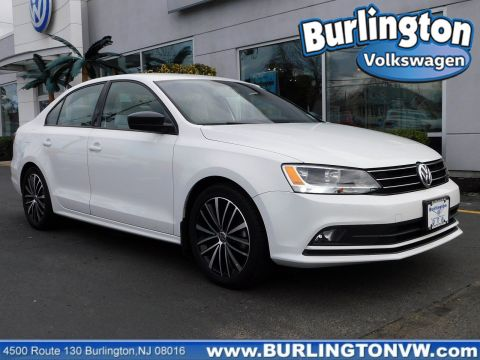 Certified Pre-Owned 2015 Volkswagen Jetta Sedan 1.8T Sport